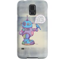 I was going to say something cute and witty...  Samsung Galaxy Case/Skin