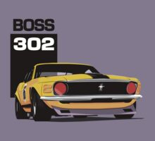 Ford Mustang Boss 302 by velocitygallery