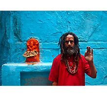 Sadhu Photographic Print