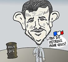 bande dessinée d'Ahmadinejad des nouvelles d'options binaires by Binary-Options
