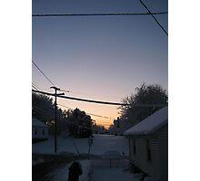 Feb. 19 2012 Snowstorm 72 Photographic Print