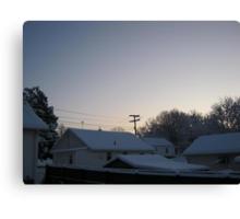 Feb. 19 2012 Snowstorm 94 Canvas Print