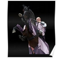 Mounted knight Poster