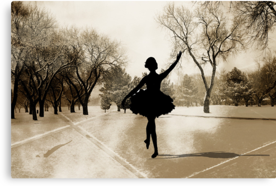 Ballerina Snow by Shyll