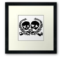 Green Day Rage and Love Framed Print