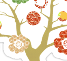 tree of life - think green Sticker