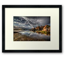 Point of Reflection 2 Framed Print
