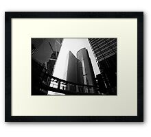 Hong Kong Walkways Framed Print