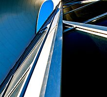Blue Sky - Art Gallery of Alberta by Roxanne Persson