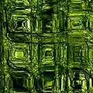 Green Circuitry - phone and iPod skin by Scott Mitchell