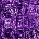 Purple circuitry - phone and iPod skin by Scott Mitchell