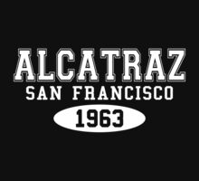 Alcatraz San Francisco 1963 by waywardtees