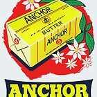 Anchor Butter Poster by Darian  Zam