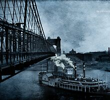 The Sidewheeler Cincinnati by garts