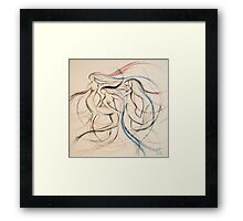 Study for 'Dances of March' Framed Print