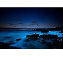 Rocks at Town Beach Photographic Print
