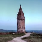 Clear Sky at Hartshead Pike by Brian Barnett