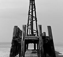 Jetty and Spire by Brian Barnett