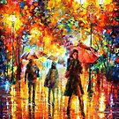 HESATATION - LEONID AFREMOV by Leonid  Afremov