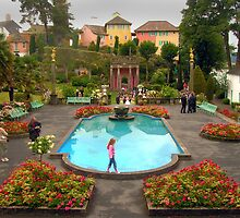 Wedding at Portmeirion Village by bryanrqueen
