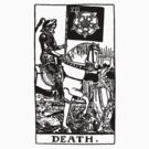 Death Tarot Card by ruckus666