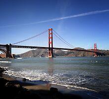 Golden Gate Bridge I by Roxie Leigh