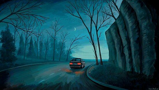 Night Ride by Remus Brailoiu