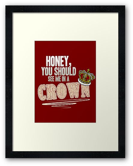 """Honey, you should see me in a crown!"" by curiousfashion"