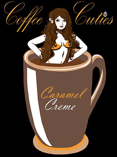 Coffee Cuties Caramel Creme by Ameda Nowlin