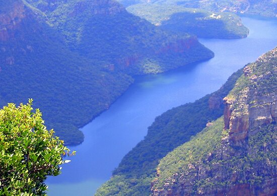 Blyde River Canyon by Elizabeth Kendall