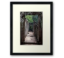 Jungle Walk Framed Print