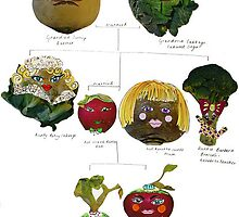 Vegetable People by alicebardgett