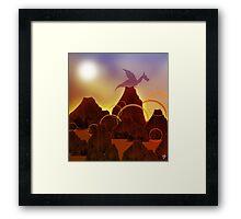 Dragon Hoard Framed Print