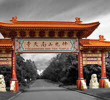 Nan Tien Temple Main Gate by TedmBinegas