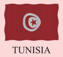 Tunisian flag by stuwdamdorp