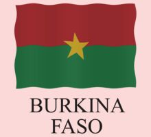 Burkina faso flag by stuwdamdorp