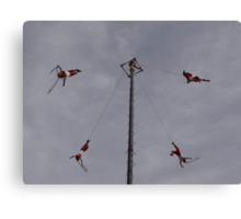 Flyers IV - Voladores Canvas Print