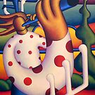 Polka whistle player by Alan Kenny