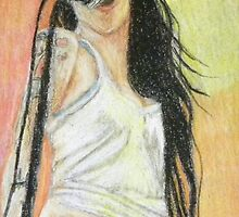 Amy Winehouse by Rhonda Rose