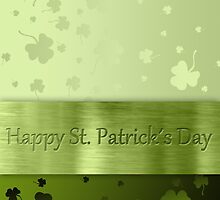 St. Patrick´s Day Shamrocks by sorayashan