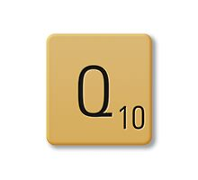 Scrabble Tile - Q by axemangraphics