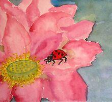 Lotus Ladybug by TrixiJahn