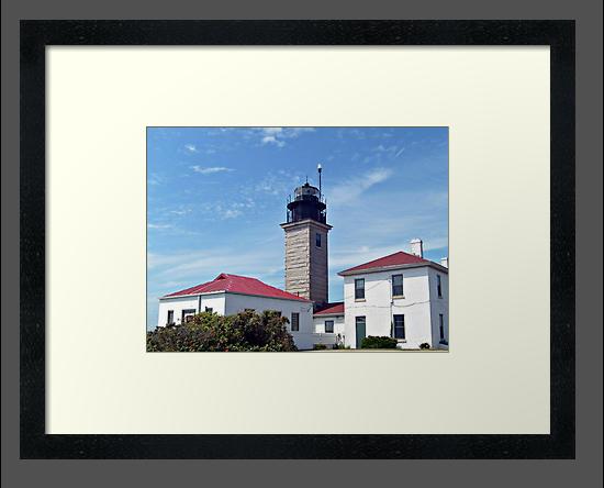 Beavertail Lighthouse, Conanicut Island, Narragansett Bay, Rhode Island by Jane Neill-Hancock