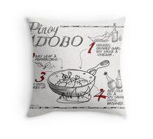 Pinoy Adobo Throw Pillow