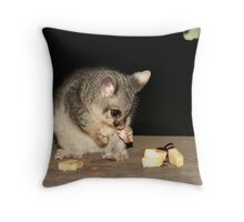 Orphan possum Throw Pillow