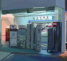 Convenience Store Downstairs by thedak