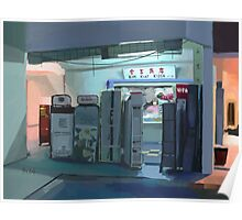 Convenience Store Downstairs Poster