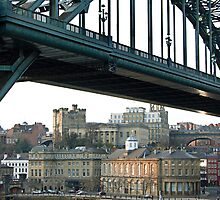 Tyne Bridge and Cityscape by Gillian Cross