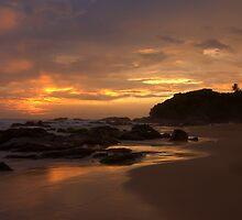 Sunset  by Alicja Ludwikowska