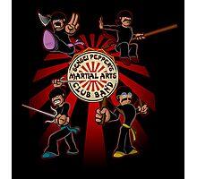 Sensei Pepper's Martial Arts Club Band (2012) Photographic Print